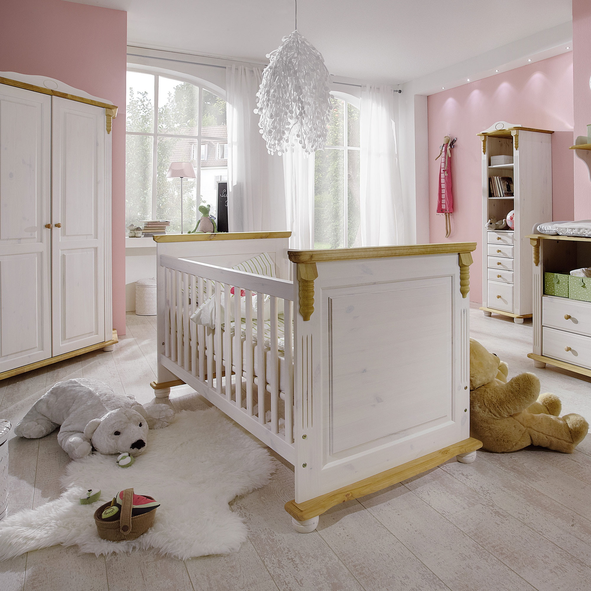 INFANSBABY Kinderbett Romantik